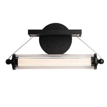 Hubbardton Forge Libra LED Sconce - Color: Clear - 209105-1004
