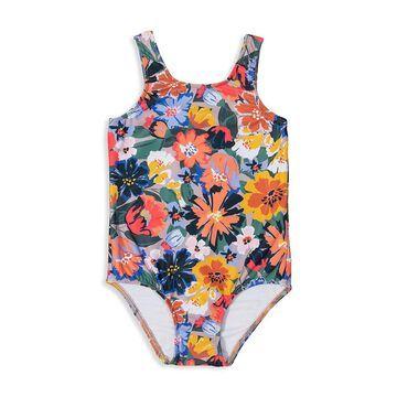 Shoshanna Little Girl's One-Piece Fiesta Floral Swimsuit
