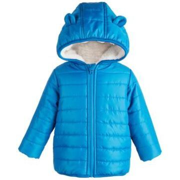 First Impressions Baby Boys Bear Puffer, Created for Macy's