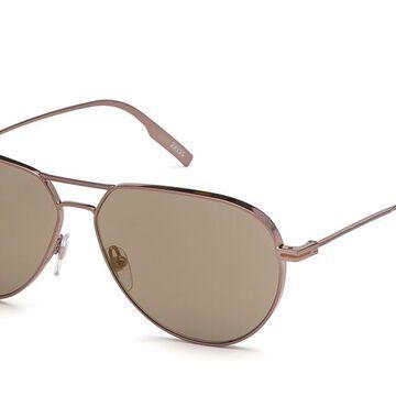 Ermenegildo Zegna EZ0129 36Q Men's Sunglasses Gold Size 59