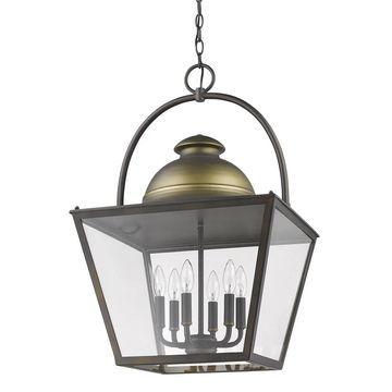 Acclaim Lighting Savannah 6-Light Pendant (Bronze)