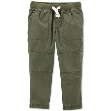 Toddler Boys Cotton Drawstring Pants