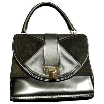 Max Mara Max Mara Atelier Black Leather Handbags