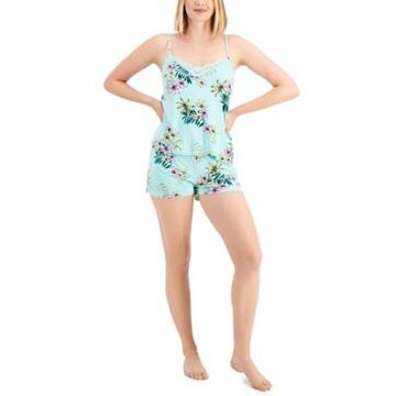 Inc International Concepts Up All Night Heavenly Soft Lace-Trim Cami & Shorts Pajama Set, Created for Macy's