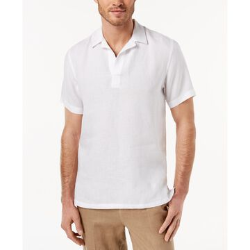 Men's Island Popover Camp Collar Linen Shirt, Created for Macy's
