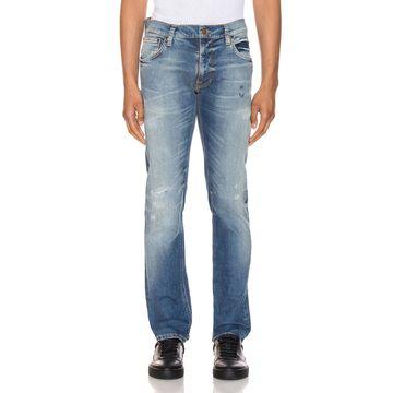 Nudie Jeans Thin Finn in Authentic Repair | FWRD