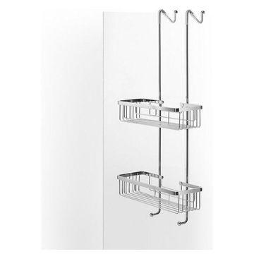 WS Bath Collections Filo 50030 Metal Hanging Double Corner Basket