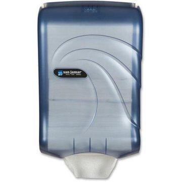 San Jamar, SJMT1790TBL, High Cap Ultrafold Towel Dispenser, 1 / Each, Arctic Blue