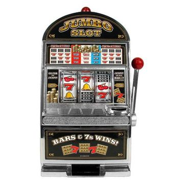 Jumbo Slot Machine Bank by Trademark Gameroom