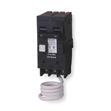 Miniature Circuit Breaker, 20 A, 120/240V AC, 2 Pole, Plug In Mounting Style, QF Series