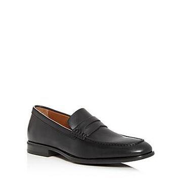 Aquatalia Men's Adamo Weatherproof Leather Penny Loafers