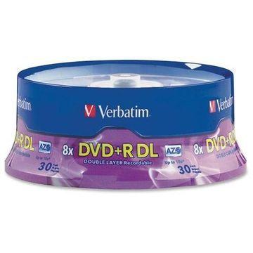 Verbatim DVD+R DL 8.5GB 8X 30pk Spindle