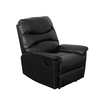 CorLiving Luke Bonded Leather Reclining Armchair