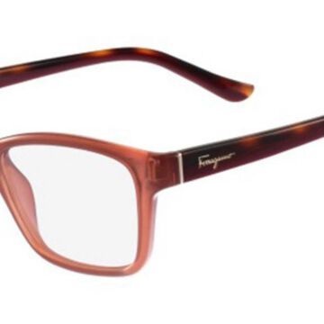 Salvatore Ferragamo SF 2721 643 Womenas Glasses Brown Size 53 - Free Lenses - HSA/FSA Insurance - Blue Light Block Available