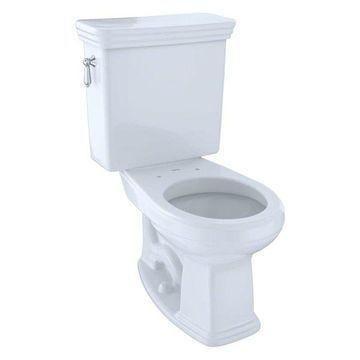 Toto Promenade Round Two-Piece Toilet, Cotton