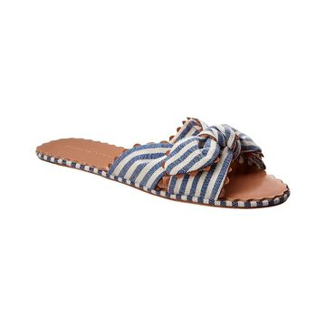 Loeffler Randall Shirley Denim Slide
