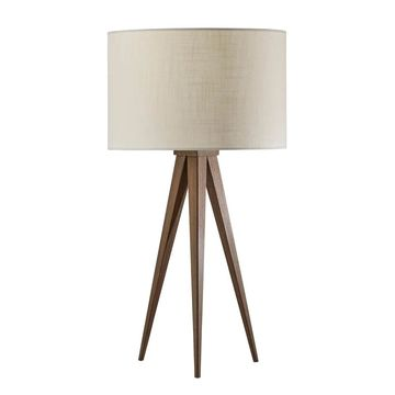 Adesso Rosewood Director Table Lamp
