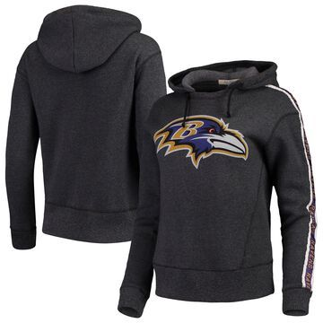 Baltimore Ravens Junk Food Women's Sunday Liberty Pullover Hoodie - Black
