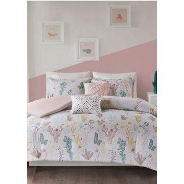 Jla Home Desert Bloom Duvet Cover Set - -