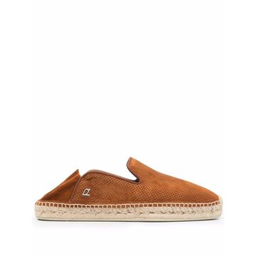 Christian Louboutin Flat shoes Leather Brown