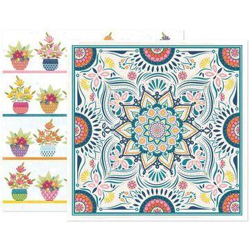 "American Crafts Paige Evans Wonders #9 12"" x 12"" Cardstock, 25 Sheets | Michaels"