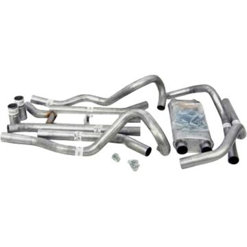 D2289021 Dynomax Exhaust System, made of aluminized steel dynomax thrush