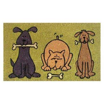 Home & More Doggie Fun Doormat