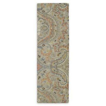 Kaleen Helena Andreas 12' Runner in Taupe