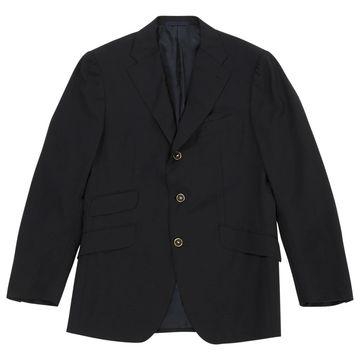 Emanuel Ungaro Navy Wool Jackets