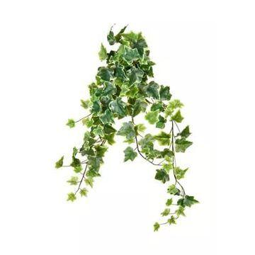 Vickerman Variegated Ivy Hanging Bush - Set Of 2 -