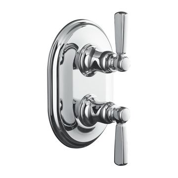 KOHLER Chrome Knob Shower Handle