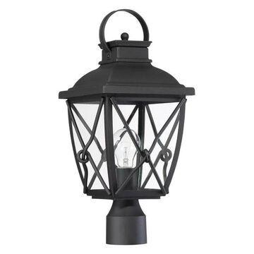 Designers Fountain 34836-BK Post Lantern