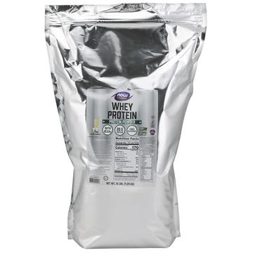 Whey Protein Creamy Vanilla Now Foods 10 lbs Powder
