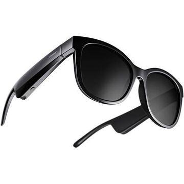 Bose 851336-0110 Frames Soprano Audio Sunglasses - Cat Eye - Polarized - Medium Fit - Headphone - Wireless - Bluetooth - Black