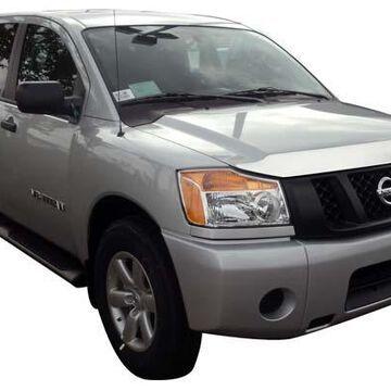2007 Nissan Titan AVS Chrome Aeroskin Hood Protector