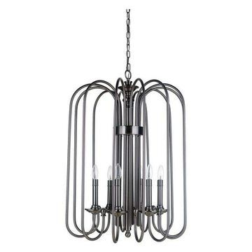 Jeremiah Lighting 40736 Avery 6-Light Chandelier