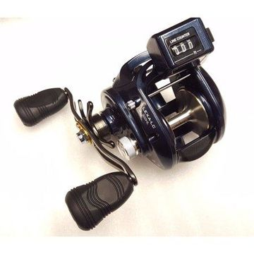 Daiwa Lexa-LC 6.3:1 Line Counter Baitcast Left Hand Fishing Reel - LEXA-LC300HL