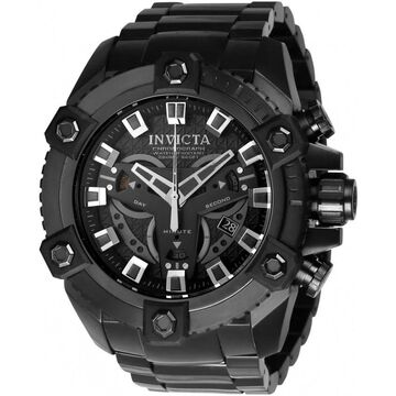 Invicta Men's 24314 'Coalition Forces' Black Stainless Steel Watch