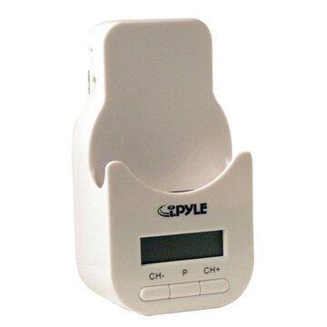 PYLE PIFMPK9 - Plug In Car i-PYLE Series iPod Docking Station with 200 Channel FM Transmitter