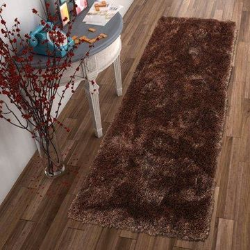 Well Woven Feather Liza Shag Taupe Runner Rug