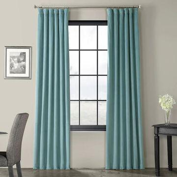 Exclusive Fabrics Signature Blackout Velvet Curtain