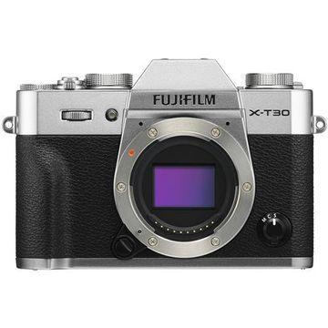 Fujifilm X-T30 Mirrorless Digital Camera Body - Silver