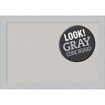 Amanti Art Extra Large Cork Board in Grey