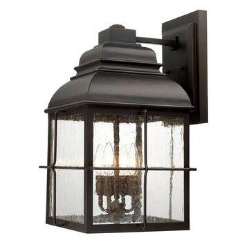 Lanier 4-light Old Bronze Outdoor Wall Lantern