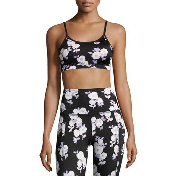 x kate spade new york luxe floral cinched bow bra