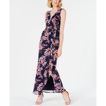 Surplice Ruffle Dress