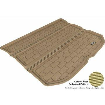 3D MAXpider 2011-2014 Scion tC All Weather Cargo Liner in Tan with Carbon Fiber Look