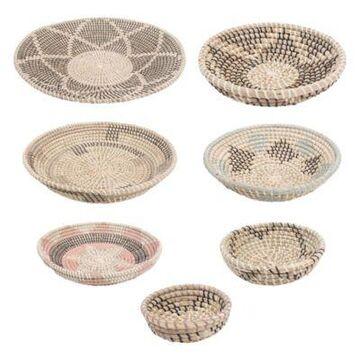 Ren-Wil Elmina 7-Piece Seagrass Basket Set Multi