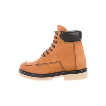 Suede Combat Boots w/ Tags Brown