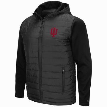 Mens NCAA Indiana Hoosiers Everest Full Zip Jacket